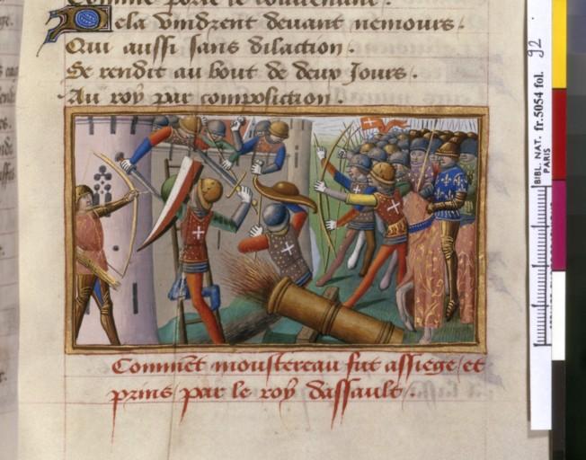 livre - les Vigiles de Charles VII, par Martial d'Auvergne - 1487  ConsulterElementNum?O=IFN-07841635&E=JPEG&Deb=1&Fin=1&Param=C