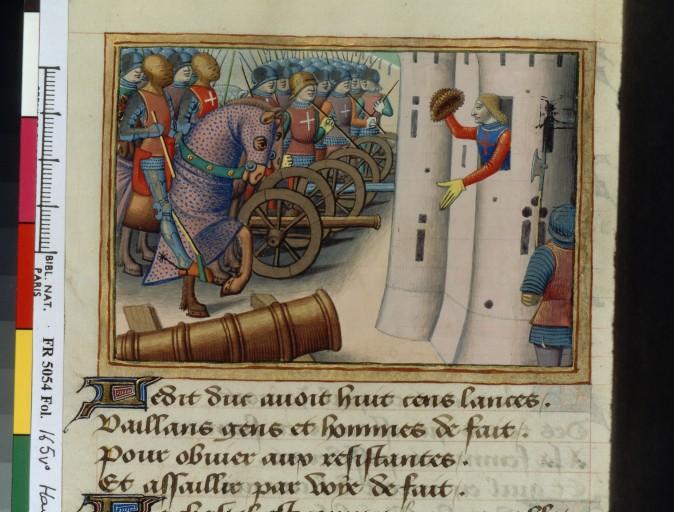 livre - les Vigiles de Charles VII, par Martial d'Auvergne - 1487  ConsulterElementNum?O=IFN-07841672&E=JPEG&Deb=1&Fin=1&Param=C
