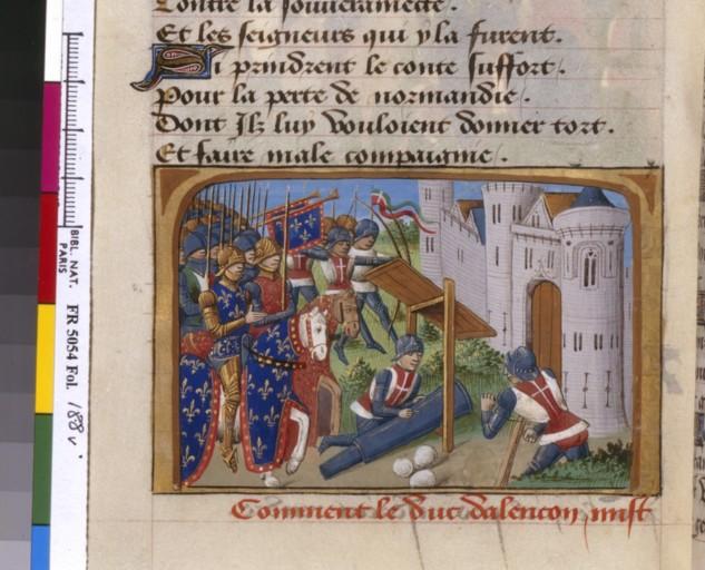 livre - les Vigiles de Charles VII, par Martial d'Auvergne - 1487  ConsulterElementNum?O=IFN-07841695&E=JPEG&Deb=1&Fin=1&Param=C