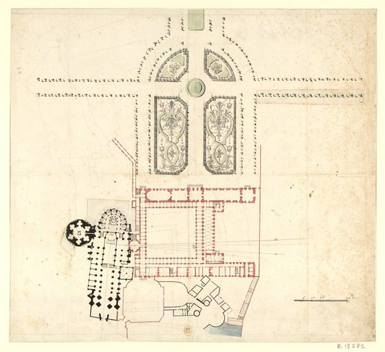 Les nouveaux bâtiments conventuels des XVII° et XVIII° siècles ConsulterElementNum?O=IFN-53031833&E=JPEG&Deb=1&Fin=1&Param=C