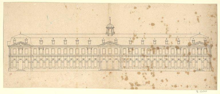 Les nouveaux bâtiments conventuels des XVII° et XVIII° siècles ConsulterElementNum?O=IFN-53031957&E=JPEG&Deb=1&Fin=1&Param=C