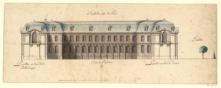 Les nouveaux bâtiments conventuels des XVII° et XVIII° siècles ConsulterElementNum?O=IFN-53031960&E=JPEG&Deb=1&Fin=1&Param=C