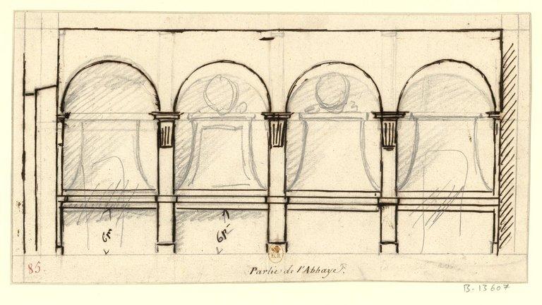 Les nouveaux bâtiments conventuels des XVII° et XVIII° siècles ConsulterElementNum?O=IFN-53031964&E=JPEG&Deb=1&Fin=1&Param=C