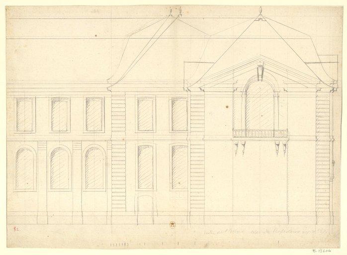 Les nouveaux bâtiments conventuels des XVII° et XVIII° siècles ConsulterElementNum?O=IFN-53031999&E=JPEG&Deb=1&Fin=1&Param=C