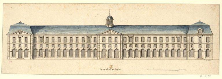 Les nouveaux bâtiments conventuels des XVII° et XVIII° siècles ConsulterElementNum?O=IFN-53032036&E=JPEG&Deb=1&Fin=1&Param=C