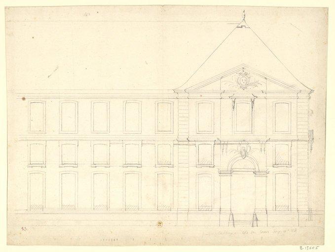 Les nouveaux bâtiments conventuels des XVII° et XVIII° siècles ConsulterElementNum?O=IFN-53032045&E=JPEG&Deb=1&Fin=1&Param=C