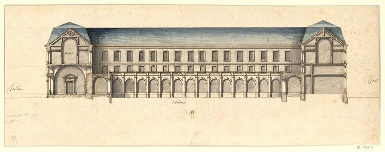 Les nouveaux bâtiments conventuels des XVII° et XVIII° siècles ConsulterElementNum?O=IFN-53032053&E=JPEG&Deb=1&Fin=1&Param=C
