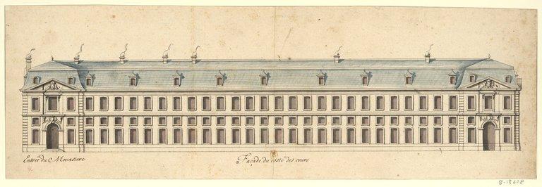 Les nouveaux bâtiments conventuels des XVII° et XVIII° siècles ConsulterElementNum?O=IFN-53032479&E=JPEG&Deb=1&Fin=1&Param=C