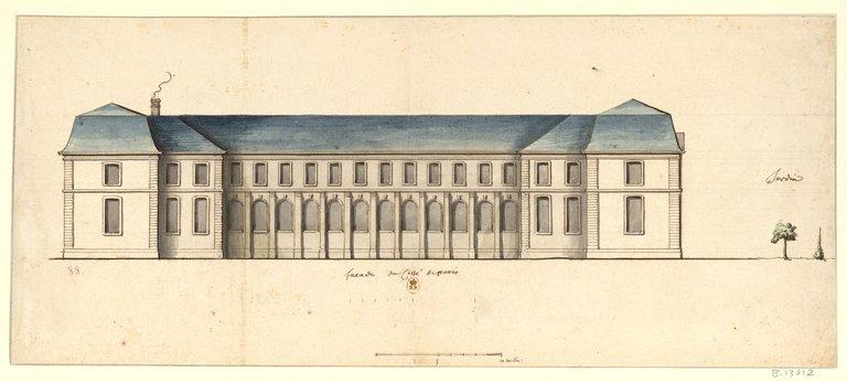 Les nouveaux bâtiments conventuels des XVII° et XVIII° siècles ConsulterElementNum?O=IFN-53032480&E=JPEG&Deb=1&Fin=1&Param=C