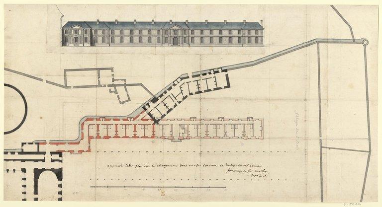 Les nouveaux bâtiments conventuels des XVII° et XVIII° siècles ConsulterElementNum?O=IFN-53046255&E=JPEG&Deb=1&Fin=1&Param=C