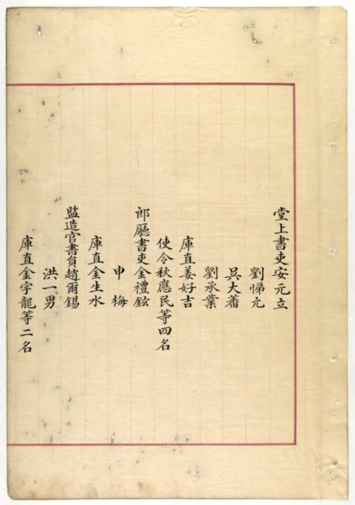 BnF, coréen 2442, fol. 1