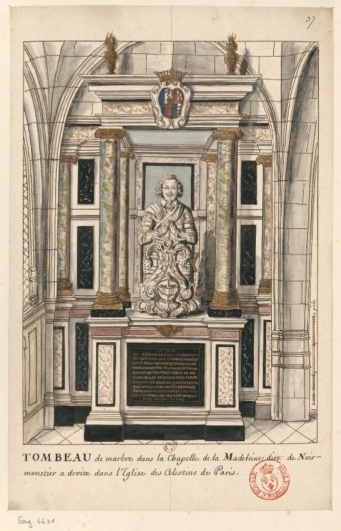 Les tombeaux princiers du couvent des Célestins, à Paris - Page 2 ConsulterElementNum?O=IFN-6907574&E=JPEG&Deb=1&Fin=1&Param=C
