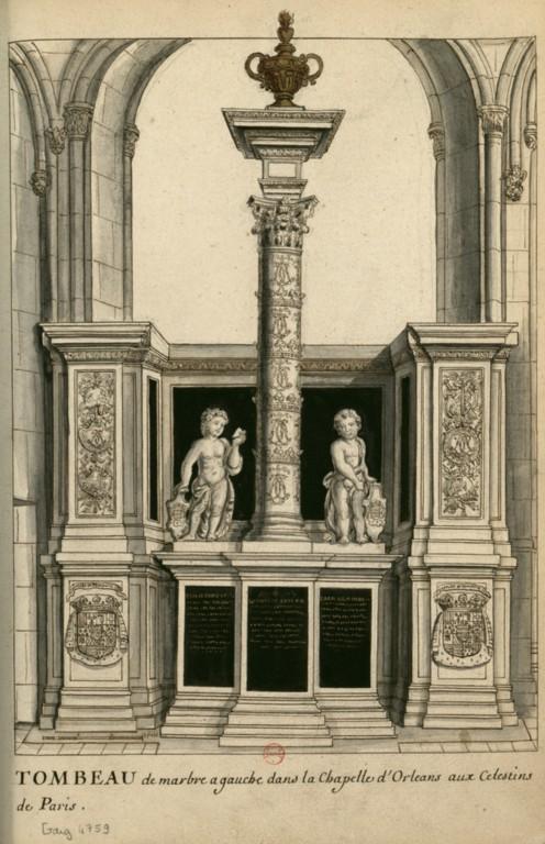 Les tombeaux princiers du couvent des Célestins, à Paris ConsulterElementNum?O=IFN-6907901&E=JPEG&Deb=1&Fin=1&Param=C
