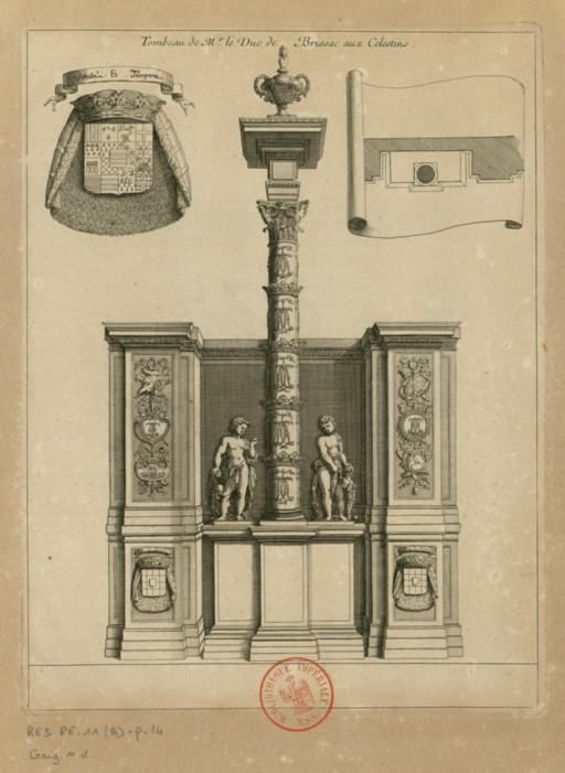 Les tombeaux princiers du couvent des Célestins, à Paris ConsulterElementNum?O=IFN-6910071&E=JPEG&Deb=1&Fin=1&Param=C